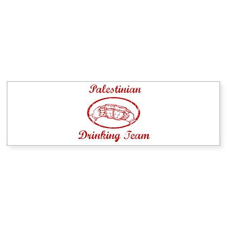 Palestinian Drinking Team Bumper Sticker