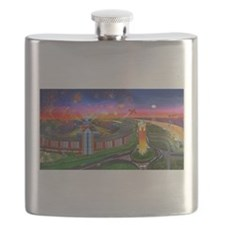 The Jones Beach Theatre and Fireworks Flask