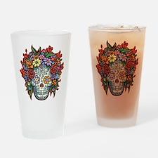 Mujere Muerta II Drinking Glass