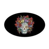 Day of the dead Oval Car Magnets