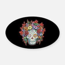 Mujere Muerta II Oval Car Magnet