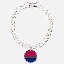 Vintage Bisexual Pride Bracelet
