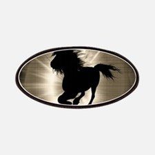 Horse silhouette Patch
