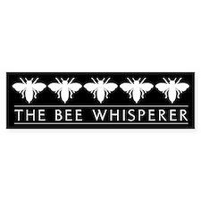 The Bee Whisperer Bumper Car Sticker