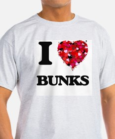 I Love Bunks T-Shirt