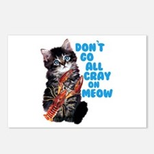 Cray on Meow Postcards (Package of 8)