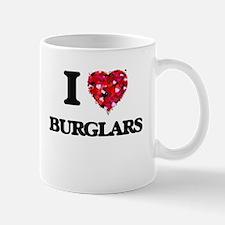 I Love Burglars Mugs