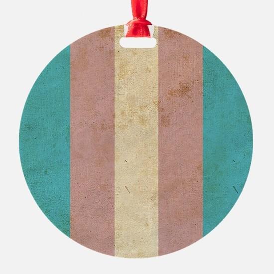 Vintage Transgender Pride Ornament