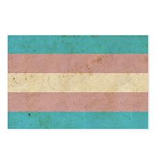 Vintage Transgender Pride Postcards (Package of 8)