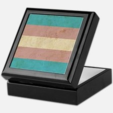 Vintage Transgender Pride Keepsake Box