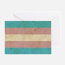Vintage Transgender Pride Greeting Card