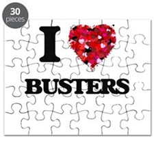 I Love Busters Puzzle