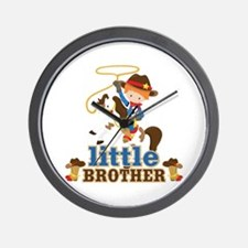 Cowboy Little Brother Wall Clock