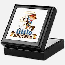 Cowboy Little Brother Keepsake Box