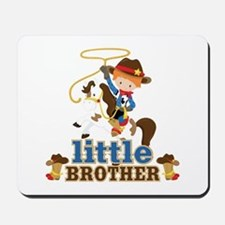 Cowboy Little Brother Mousepad