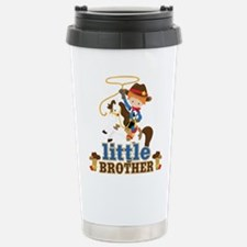 Cowboy Little Brother Stainless Steel Travel Mug