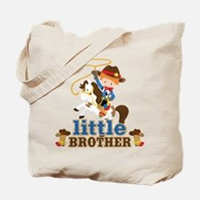 Cowboy Little Brother Tote Bag