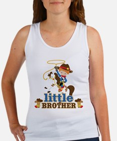 Cowboy Little Brother Women's Tank Top