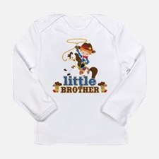 Cowboy Little Brother Long Sleeve Infant T-Shirt