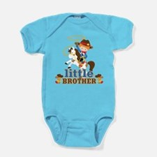 Cowboy Little Brother Baby Bodysuit