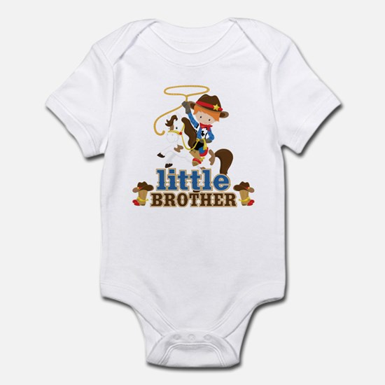 Cowboy Little Brother Infant Bodysuit
