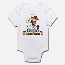 Cowboy Little Brother Onesie