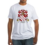 Barral Family Crest Fitted T-Shirt