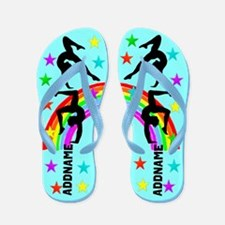 Awesome Gymnast Flip Flops
