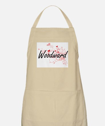 Woodward Artistic Design with Hearts Apron