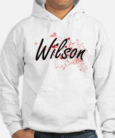 Wilson Artistic Design with Hear Hoodie