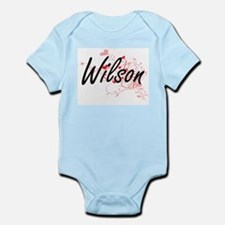 Wilson Artistic Design with Hearts Body Suit