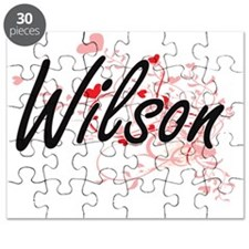 Wilson Artistic Design with Hearts Puzzle