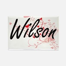 Wilson Artistic Design with Hearts Magnets