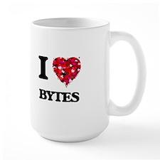I Love Bytes Mugs