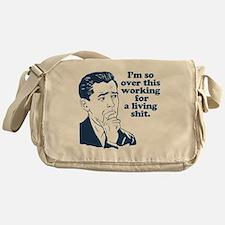 So Over It Messenger Bag