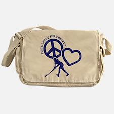 P,L,FIELD HOCKEY Messenger Bag