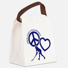 P,L,FIELD HOCKEY Canvas Lunch Bag