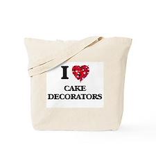 I love Cake Decorators Tote Bag