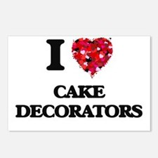 I love Cake Decorators Postcards (Package of 8)