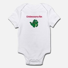 Cristianosaurus Rex Infant Bodysuit