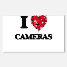 I love Cameras Decal