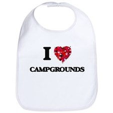 I love Campgrounds Bib
