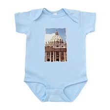 Rome Italy Vatican Watercolor Art Body Suit