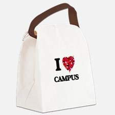 I love Campus Canvas Lunch Bag