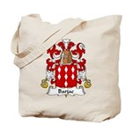 Barjac Family Crest Tote Bag