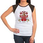 Barjac Family Crest Women's Cap Sleeve T-Shirt