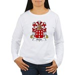 Barjac Family Crest Women's Long Sleeve T-Shirt