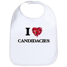 I love Candidacies Bib