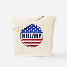 Vote Hillary 2016 Tote Bag