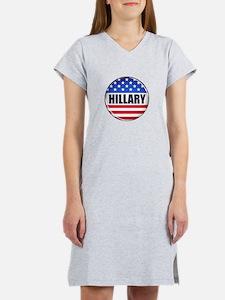 Vote Hillary 2016 Women's Nightshirt